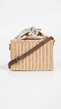 Kayu Reece Straw Wicker Bag