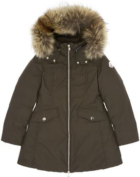 Moncler Obax Fur Trimmed Down Coat 4 Years - 6 Years