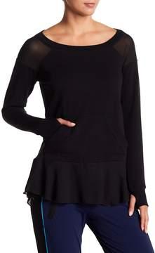 Blanc Noir Twirl Sweatshirt