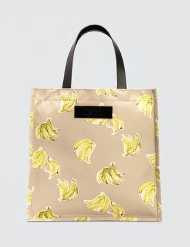 MSGM Printed Tote Bag