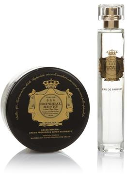 Perlier Imperial Honey 2-piece Kit - Body Cream and Eau de Parfum