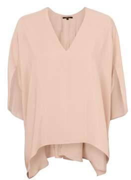Derek Lam Batwing Sleeve Silk Blouse