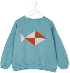 Bobo Choses geometric fish sweatshirt