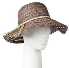 Merona Women's Floppy Hat Brown
