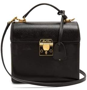 Mark Cross Sara Saffiano Leather Bag - Womens - Black