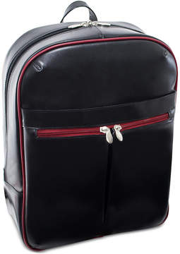 McKlein Avalon 15.4 Leather Slim Laptop Backpack