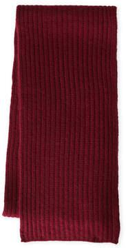 Sofia Cashmere Rib Knit Cashmere Scarf