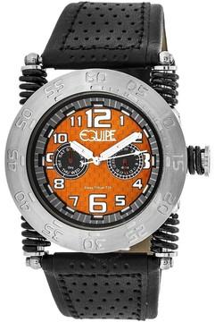 Equipe Tritium Coil Orange Dial Men's Watch