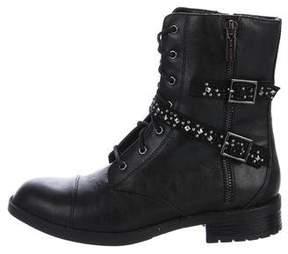 Elie Tahari Rock Glam Combat Boots