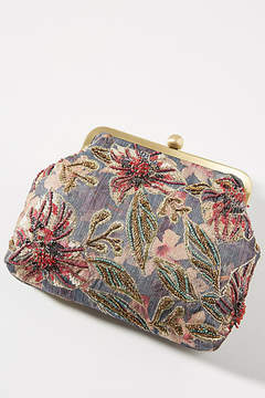 Anthropologie Watercolor Clutch