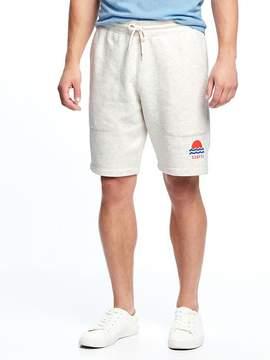Old Navy Graphic Fleece Shorts for Men (9)