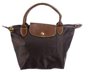 Longchamp Mini Le Pliage Bag - BROWN - STYLE