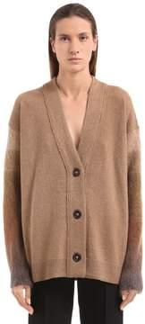 Agnona Camel & Mohair Knit Cardigan