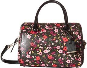 Kate Spade Cameron Street Boho Floral Large Lane Handbags - BLACK MULTI - STYLE