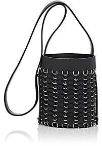 Paco Rabanne Women's 14#01 Leather Mini Bucket Bag - Noir