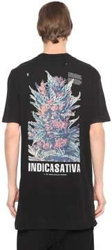 11 By Boris Bidjan Saberi Indicasativa Print Cotton Jersey T-Shirt