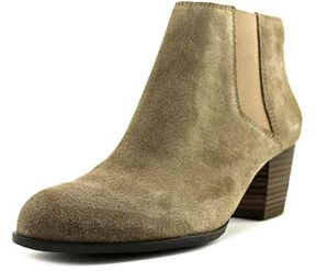 Lucky Brand Tulayne Round Toe Suede Bootie.