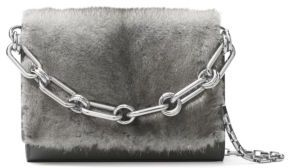 MICHAEL MICHAEL KORS Yasmeen Small Mink Fur Chain Clutch