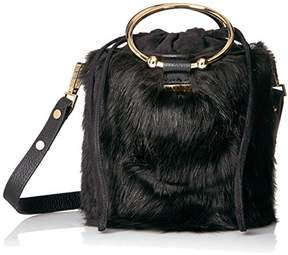 Milly Faux Fur Drawstring Bucket