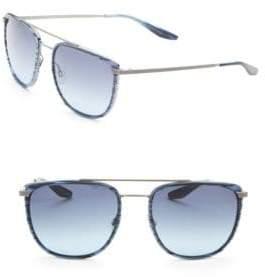 Barton Perreira Lafayette 56MM Square Sunglasses