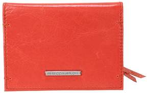 Rebecca Minkoff Regan Leather Card Case - Blood Orange - ONE COLOR - STYLE