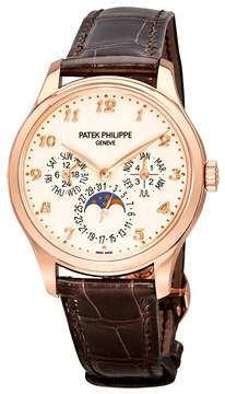 Patek Philippe Grand Complication Ivory Lacquered Dial Automatic Men's 18 Carat Rose Gold Watch