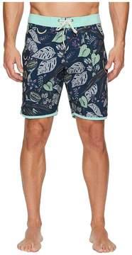 VISSLA Night Crawler Four-Way Stretch Boardshorts 18.5 Men's Swimwear