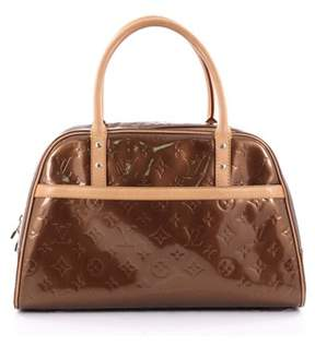 Louis Vuitton Pre-owned: Tompkins Square Satchel Monogram Vernis. - BROWN - STYLE