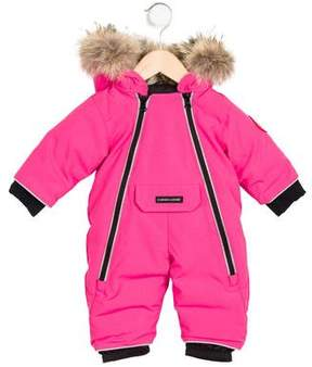 Canada Goose Girls' Lamb Snowsuit w/ Tags