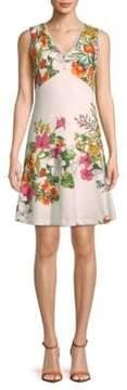 Donna Ricco Floral Sleeveless Dress