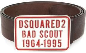 DSQUARED2 Bad Scout buckle belt