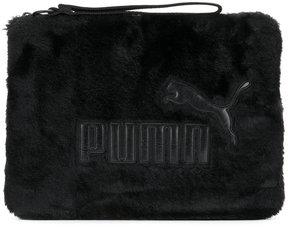 Puma furry clutch bag