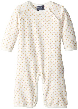 Toobydoo Sweet Stars Soft White Jumpsuit Girl's Jumpsuit & Rompers One Piece