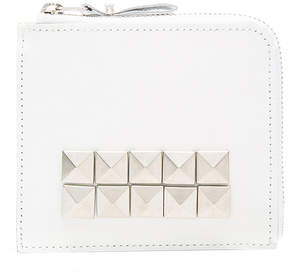 Comme des Garcons Studded Leather Zip Wallet
