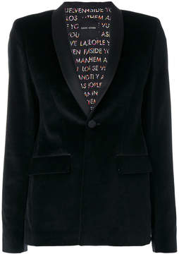 Each X Other single breasted blazer
