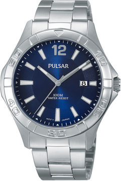 Pulsar Mens Stainless Steel Watch PH9077X