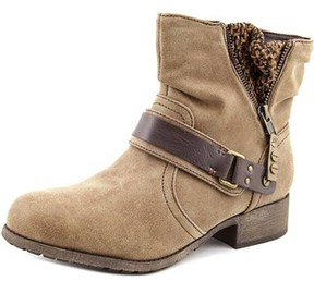 Jellypop Smarty Women Round Toe Synthetic Brown Ankle Boot.