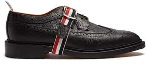 Thom Browne Longwing grained-leather brogues