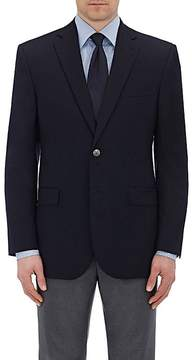 Barneys New York MEN'S WOOL TWILL TWO-BUTTON SPORTCOAT