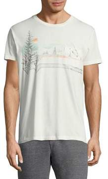 Sol Angeles Riva Glade Short-Sleeve Cotton Tee