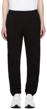 McQ Black Inside Out Lounge Pants
