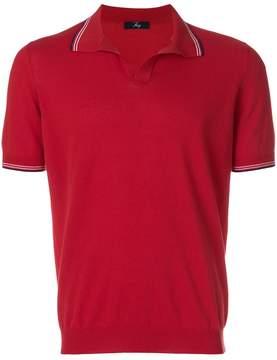 Fay short-sleeve polo top