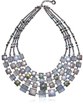 Antica Murrina Veneziana Women's Grey Steel Necklace.
