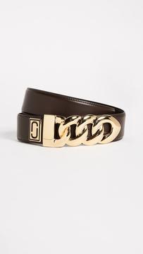 Marc Jacobs Double J Plaque Belt