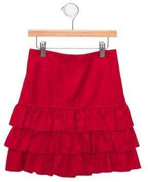 Rachel Riley Girls' Tiered A-Line Skirt w/ Tags