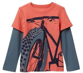 Tea Collection Fat Bike Graphic Tee (Toddler, Little Boys, & Big Boys)