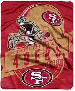 Northwest Company San Francisco 49ers Micro Raschel 12th Man Throw Blanket