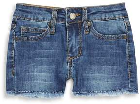 Joe's Jeans Little Girl's Frayed Hem Stretch Denim Shorts