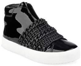 KENDALL + KYLIE Duke High-Top Chain Sneakers