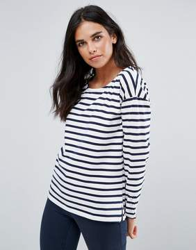 Blend She Gilli Striped Long Sleeved T-Shirt